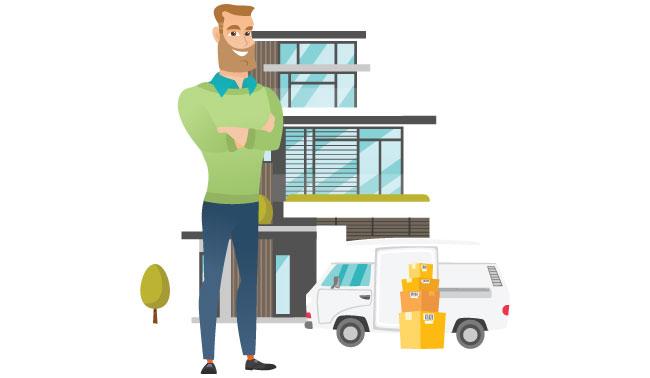 un déménagement immobilier